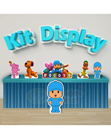 Kit Display Pocoyo (Diamante)