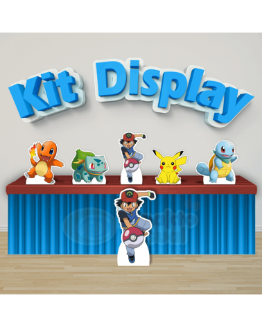 Kit Display Pokémon (Diamante)