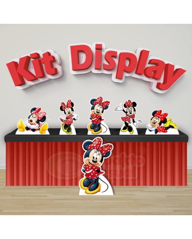 Kit Display Minnie Vermelha...
