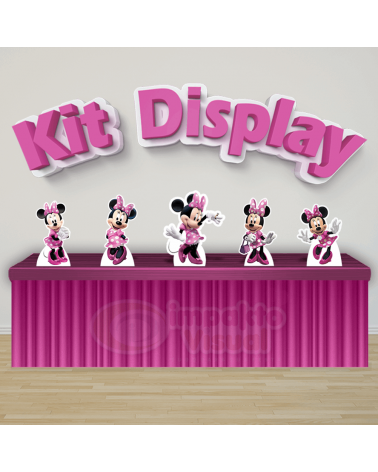 Kit Display Minnie Rosa