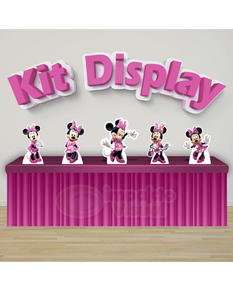 Kit Display Minnie Rosa