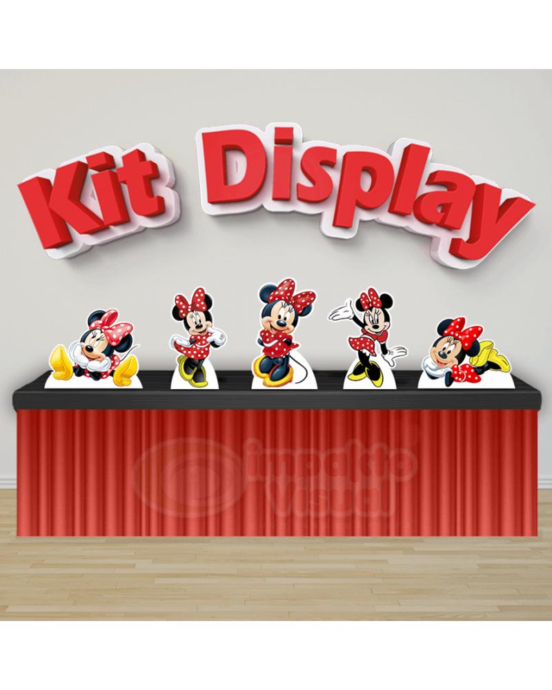 Kit Display Minnie Vermelha