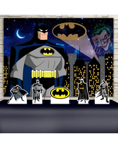 Kit Festa Batman (Prata)