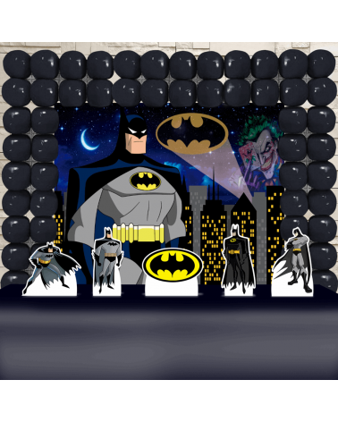 Kit Festa Batman (Ouro)