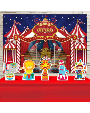 Kit Festa Circo (Prata)
