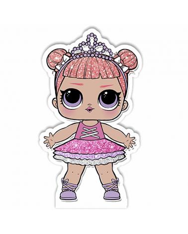 Painel para decoração de festa com o tema Betty Boop
