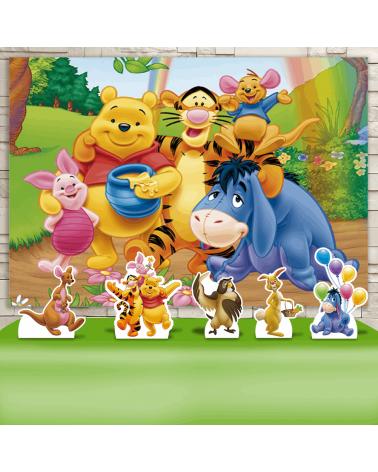 Kit Festa Ursinho Pooh (Prata)