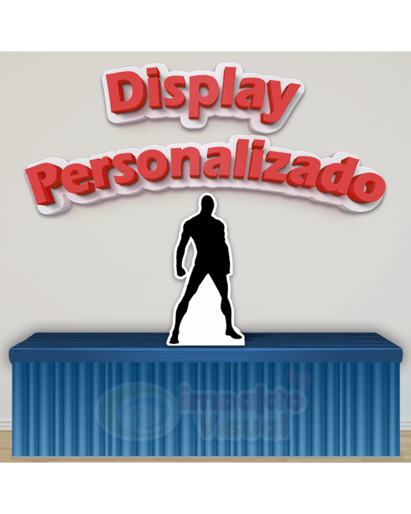 Display Personalizado - Imagem do...