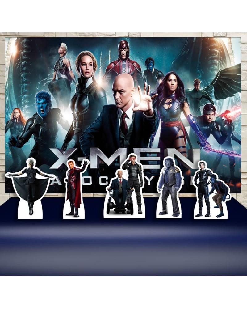 Kit Festa X-Man Filme (Prata)