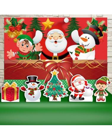 Kit Festa Natal (Prata)