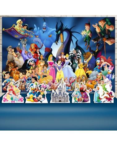 Kit Festa Mundo Disney (Prata)