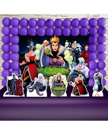 Kit Festa Vilãs da Disney...