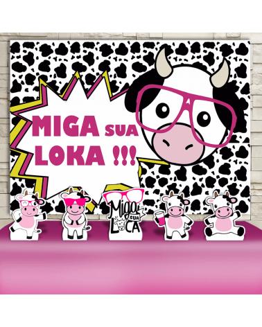 Kit Festa Miga Sua Loka...
