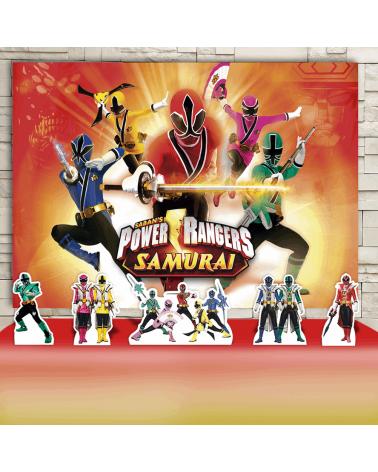 Kit Festa Power Rangers...