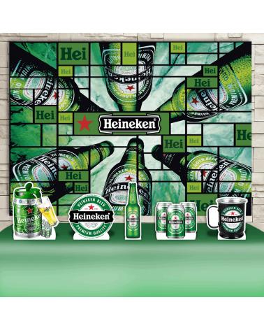Kit Festa Heineken (Prata)