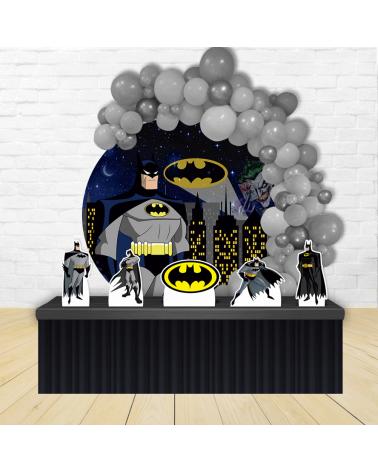 Kit Festa Redondo Batman