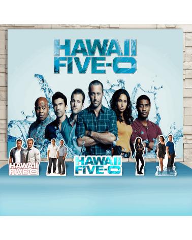 Kit Festa Havaii Five-0...