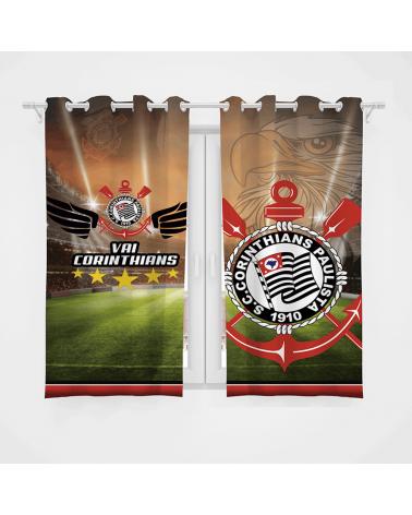 Cortina Decorativa Corinthians