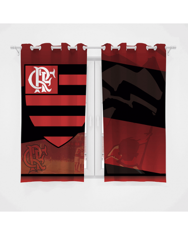 Cortina Decorativa Flamengo