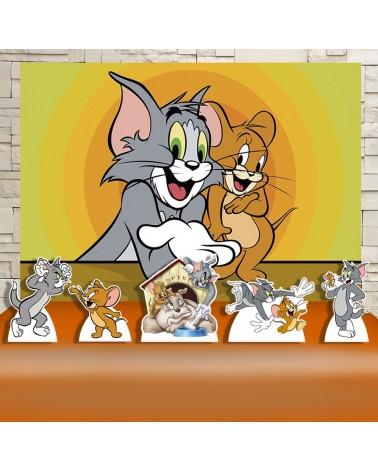 Kit Festa Tom e Jerry (Prata)