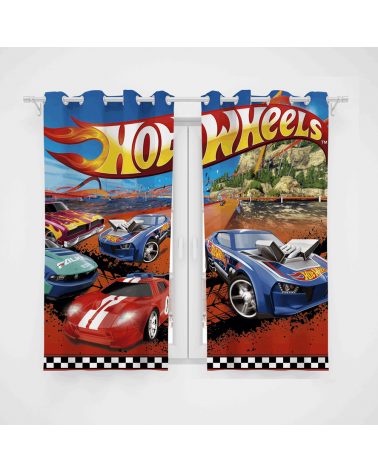 Cortina Decorativa Hot Wheels