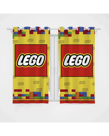 Cortina Decorativa Lego