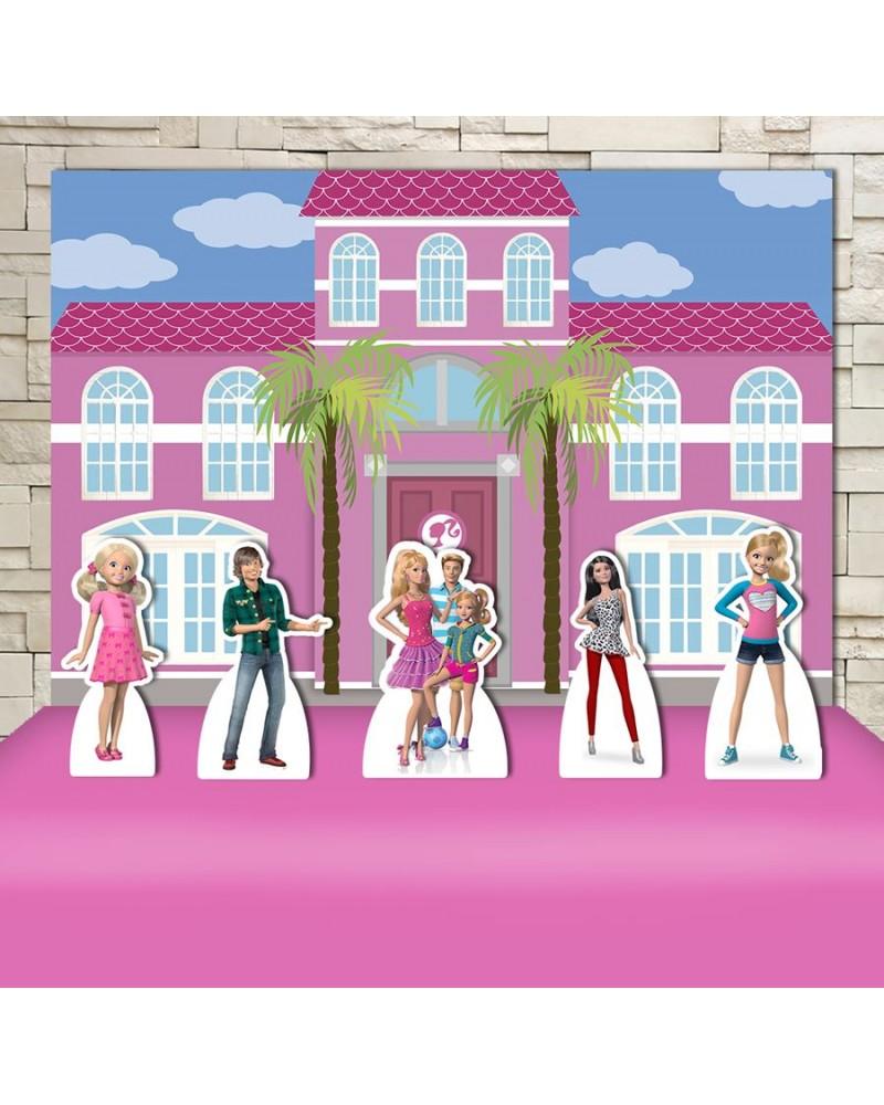Kit Festa Barbie Dream House (Prata)