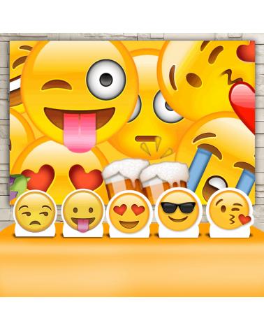 Kit Festa Emoji (Prata)