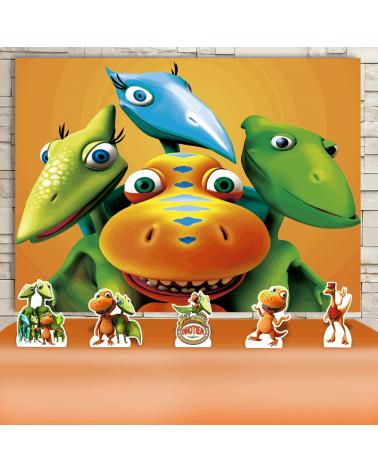 Kit Festa Dinotrem (Prata)