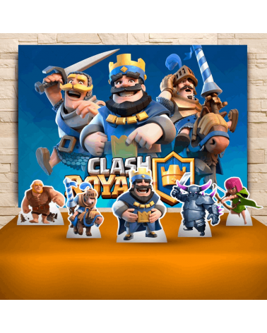 Kit Festa Clash Royale (Prata)