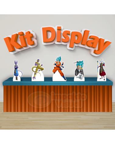 Kit Display Dragon Ball Super