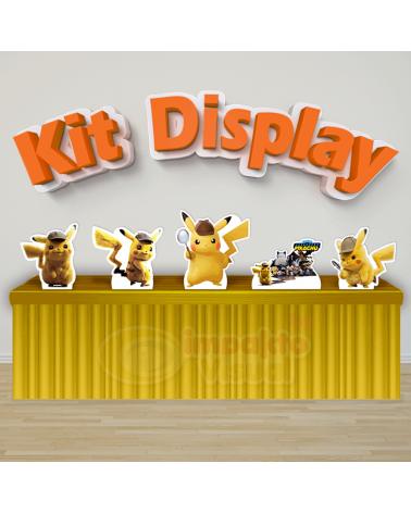 Kit Display Detetive Pikachu