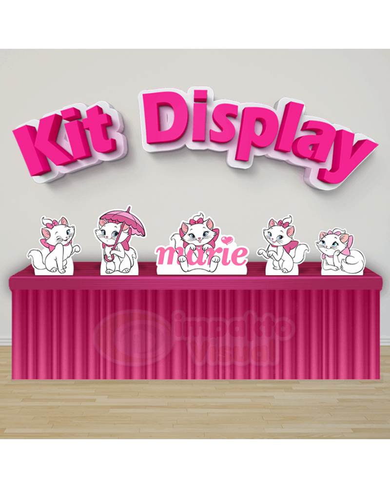 Kit Display Gata Marie