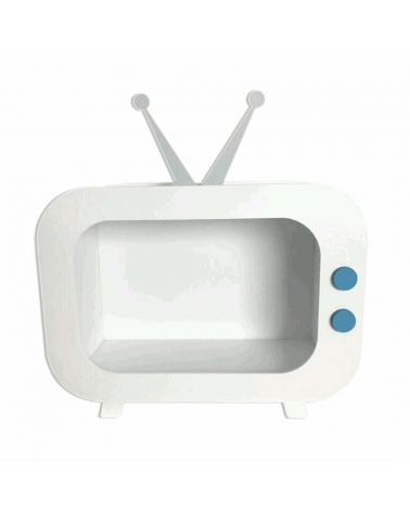 Nicho TV Retrô Branco