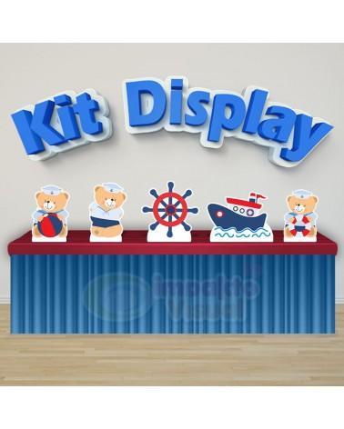 Kit Display Ursinho Marinheiro