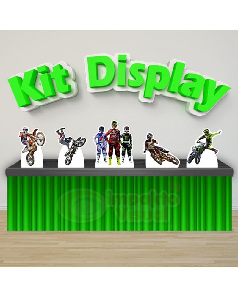 Kit Display Motocross