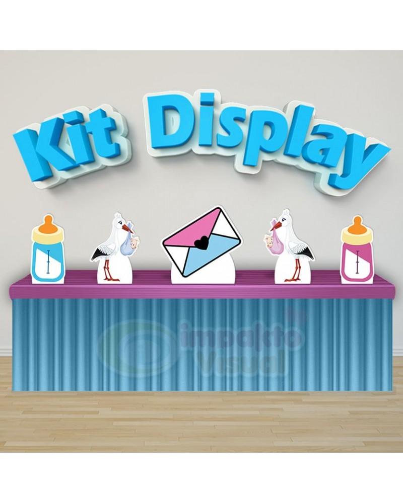 Kit Display Chá Revelação