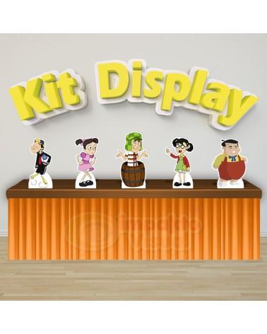 Kit Display Chaves