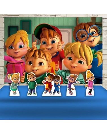 Kit Festa Alvin e os...