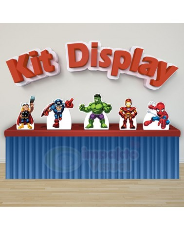Kit Display Vingadores Baby
