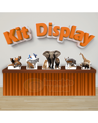 Kit Display Safari
