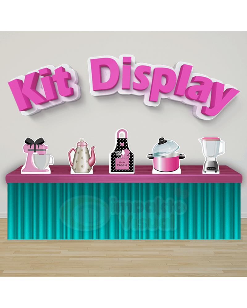 Kit Display Chá de Panela