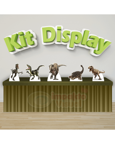 Kit Display Jurassic World