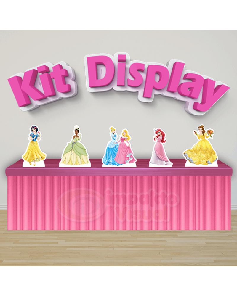 Kit Display Princesas