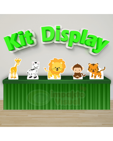 Kit Display Safari Baby