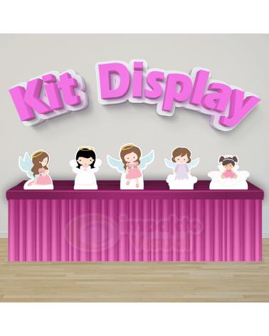 Kit Display Batizado Menina