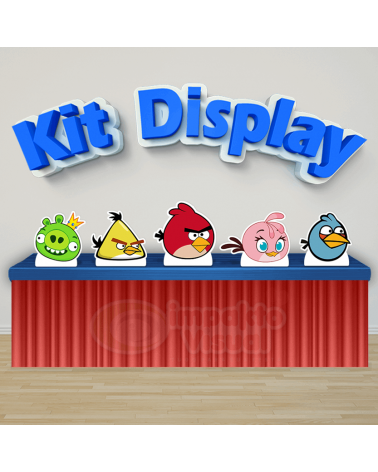 Kit Display Angry Birds