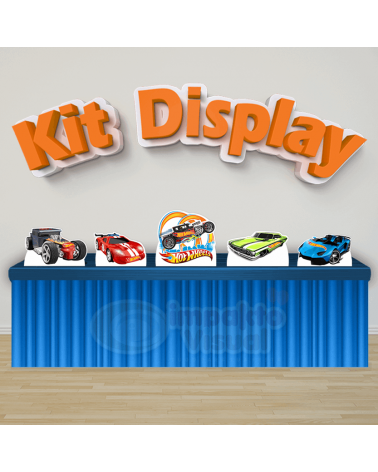 Kit Display Hot Wheels
