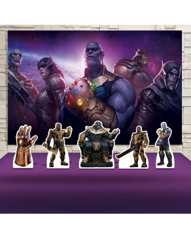 Kit Festa Thanos (Prata)