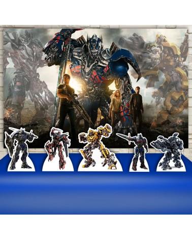 Kit Festa Transformers (Prata)